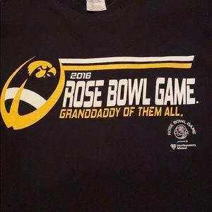 2016 Iowa Hawkeyes Rose Bowl Shirt